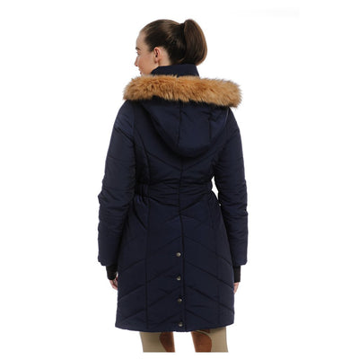 Horseware Women's Fifi Quilted Long Jacket Back