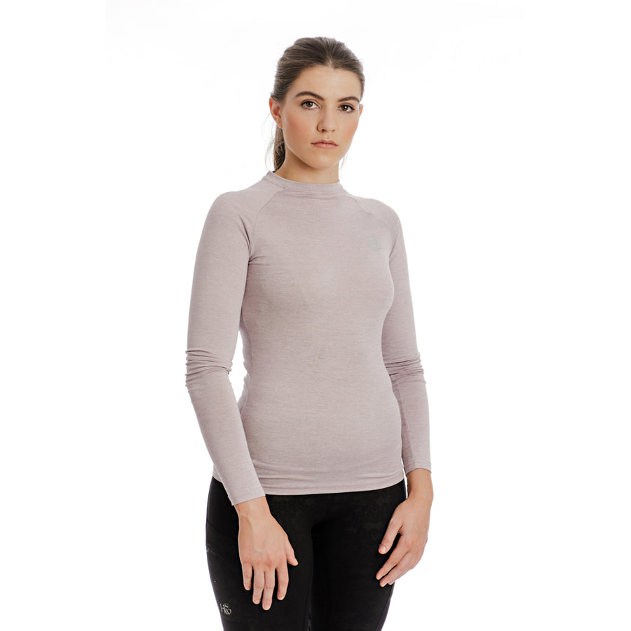 Horseware Women's Tech Crew Neck Long Sleeve Base Layer