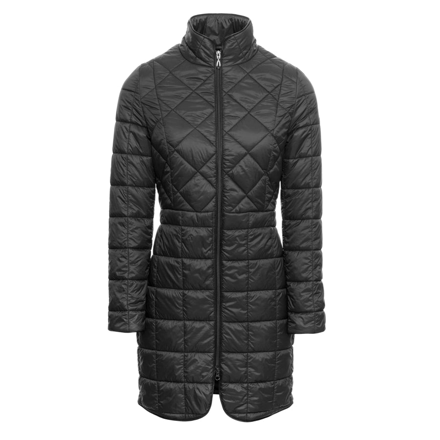 Horseware Women's AA Insula Long Quilted Jacket Model