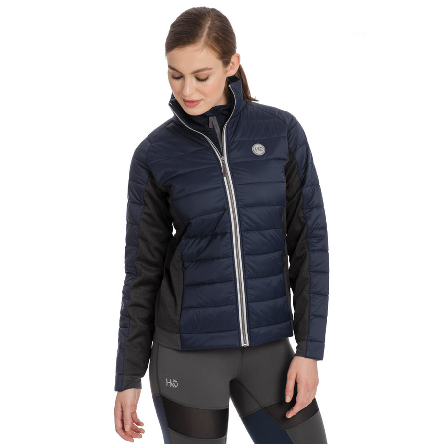 Horseware Women's AA Winter Hybrid Quilted Jacket Misty Rose