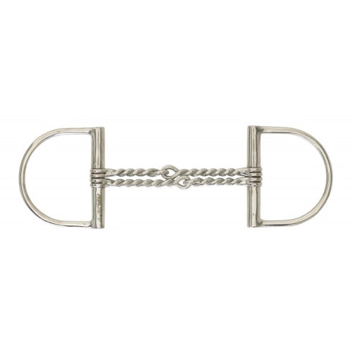 Hunter Dee Double Twisted Wire Snaffle Bit