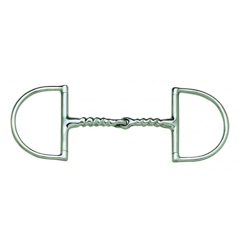 Hunter Dee Corkscrew Snaffle Bit