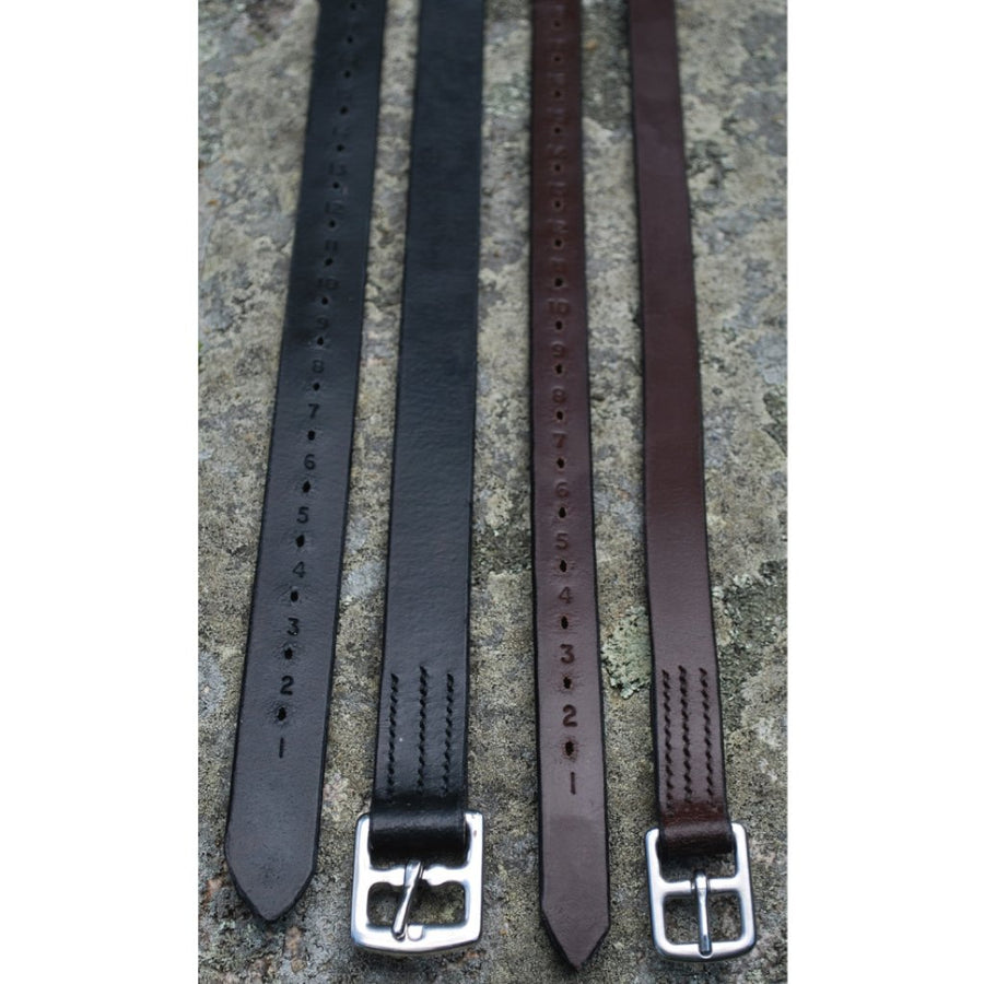 KL Select Plain Stirrup Leathers
