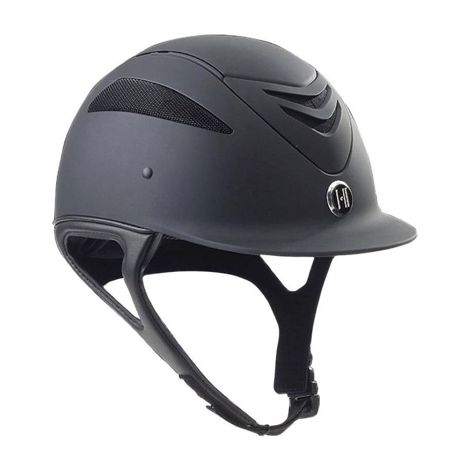 One K Defender Junior Riding Helmet Black Matte