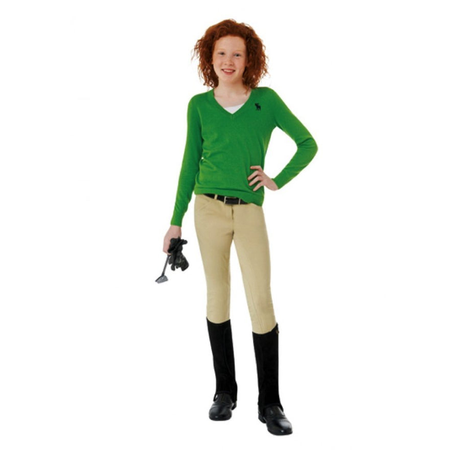 Ovation Girl's Lauren Pull-On Euro Seat Breech
