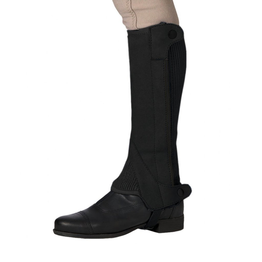 Ovation Kid's Elite Amara Suede Half Chaps Brown