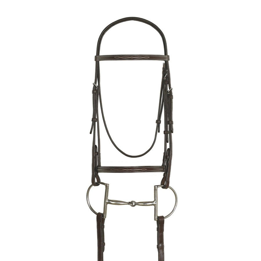Ovation Raised Fancy Stitched Comfort Crown Padded Bridle