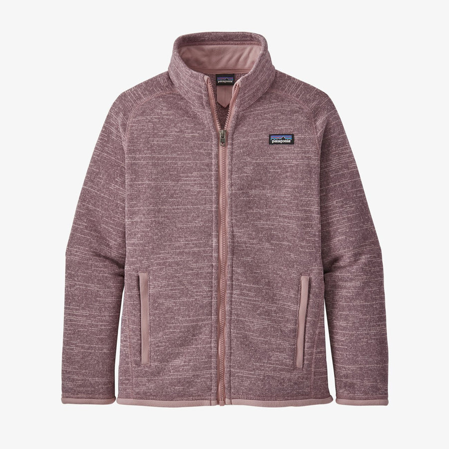 Patagonia Girl's Better Sweater Fleece Jacket Hyssop Purple