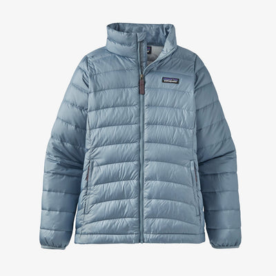 Patagonia Girl's Down Sweater Jacket Berlin Blue