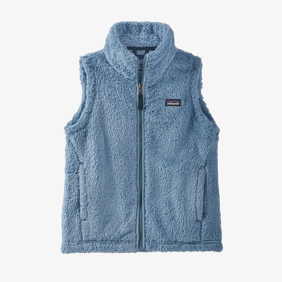 Patagonia Girl's Los Gatos Fleece Vest Berlin Blue