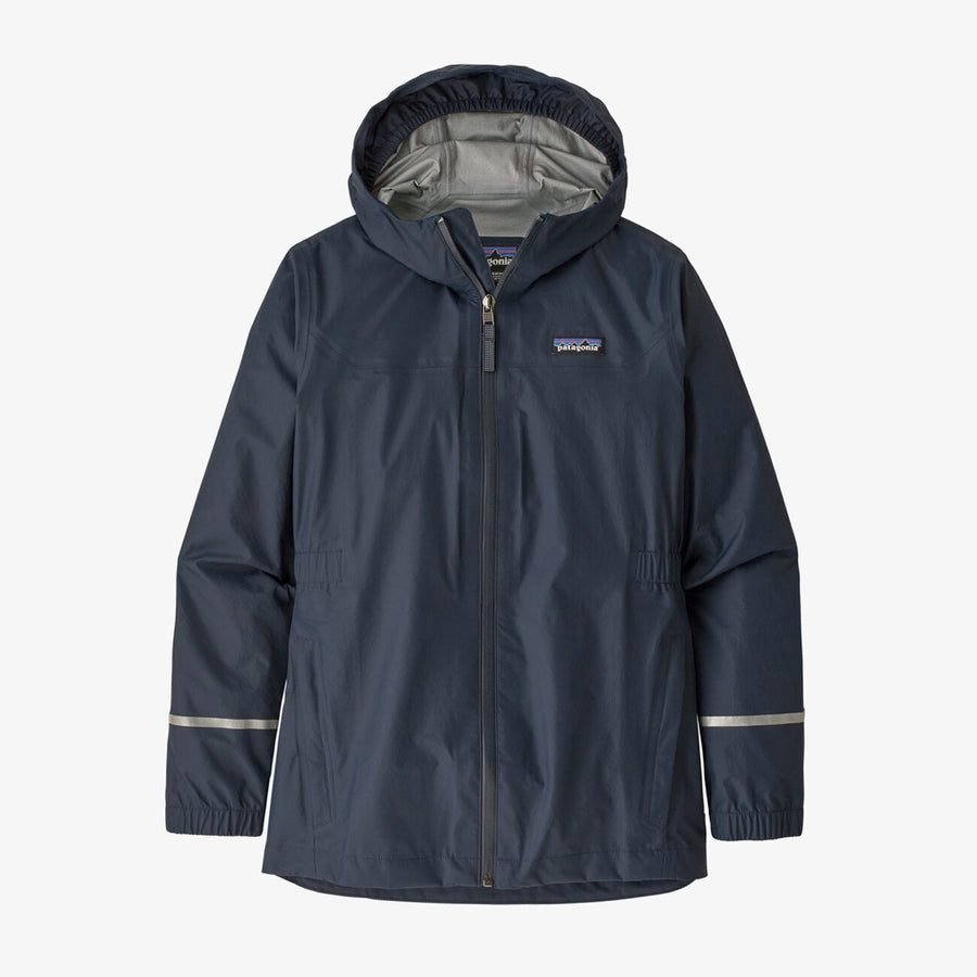 Patagonia Girl's Torrentshell 3L Rain Jacket Berlin Blue