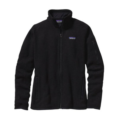 Patagonia Women's Better Sweater Fleece Jacket Black