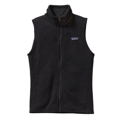 Patagonia Women's Better Sweater Fleece Vest Black