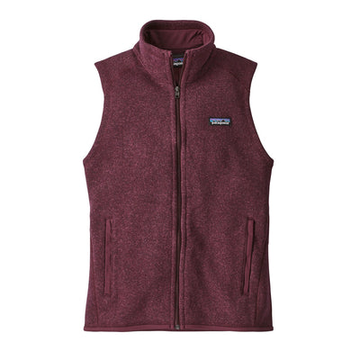 Patagonia Women's Better Sweater Fleece Vest Dark Currant