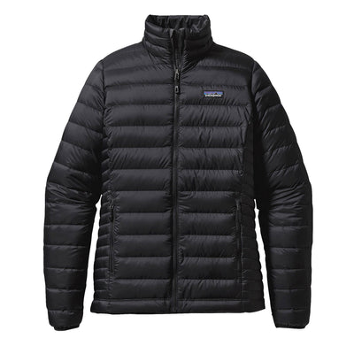 Patagonia Women's Down Sweater Jacket Black