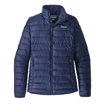 Patagonia Women's Down Sweater Jacket Classic Navy