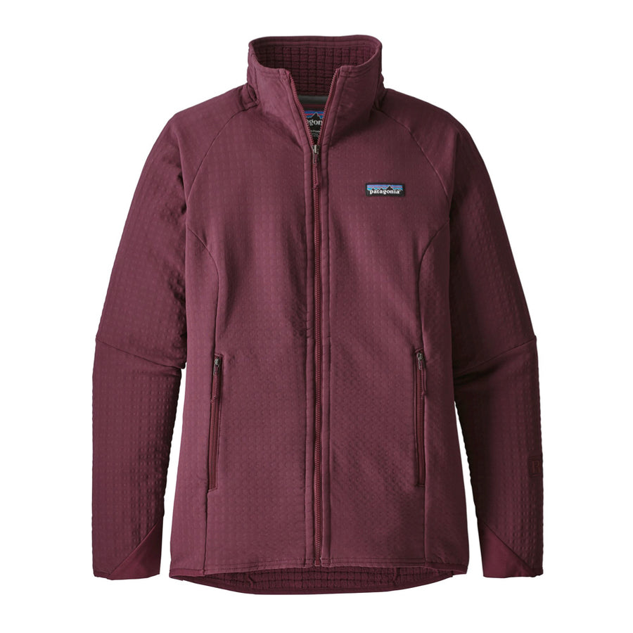 Patagonia Women's R2 Techface Jacket Dark Currant