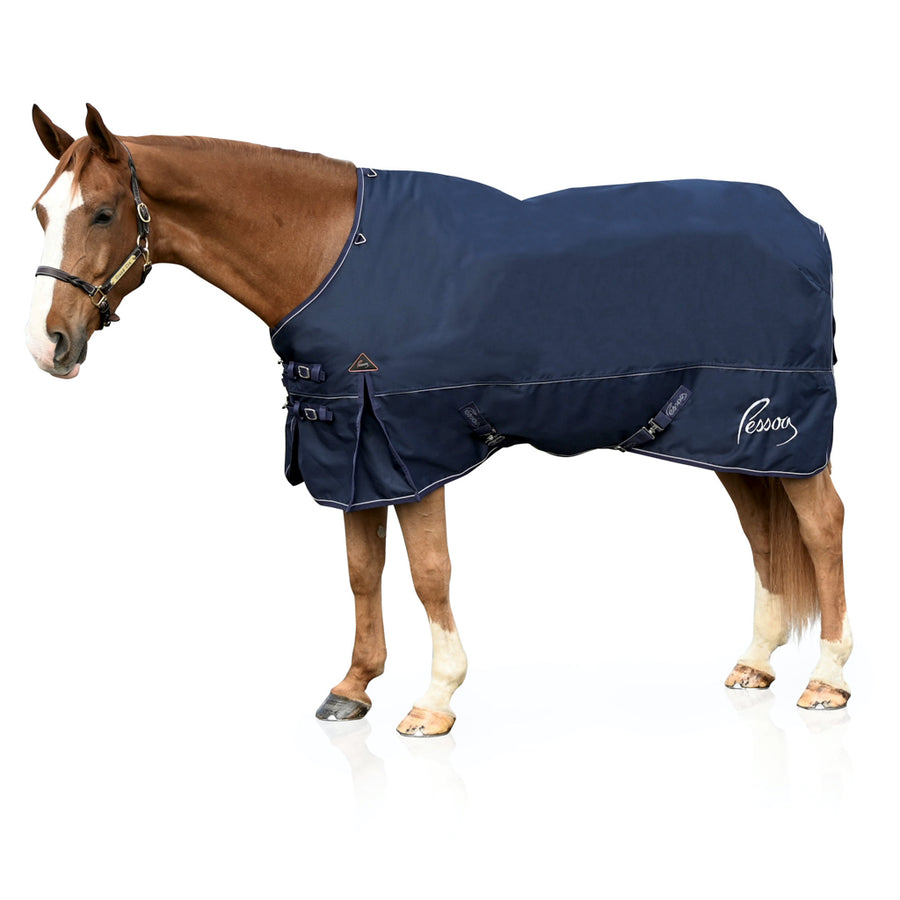Pessoa Limited Edition Alpine 300g Turnout Blanket Navy