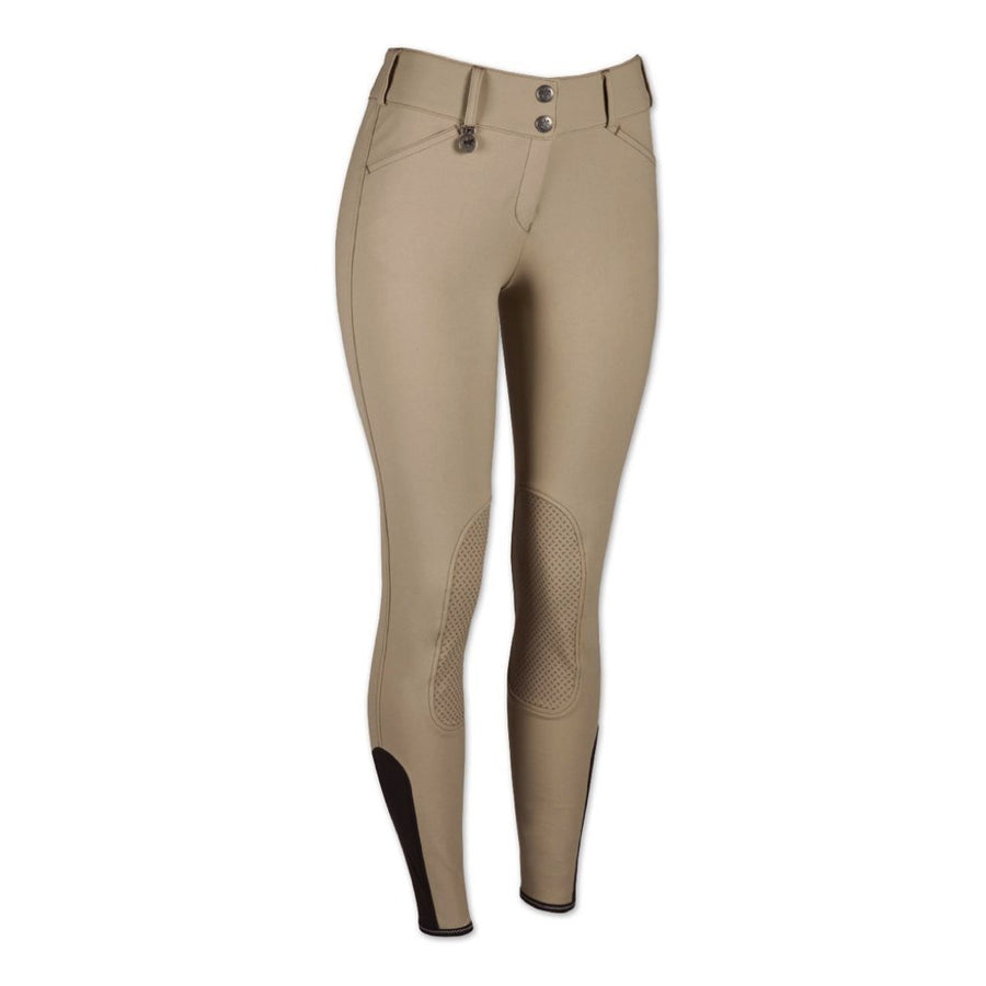 Pikeur Women's Ciara Knee Patch Grip Riding Breech Safari