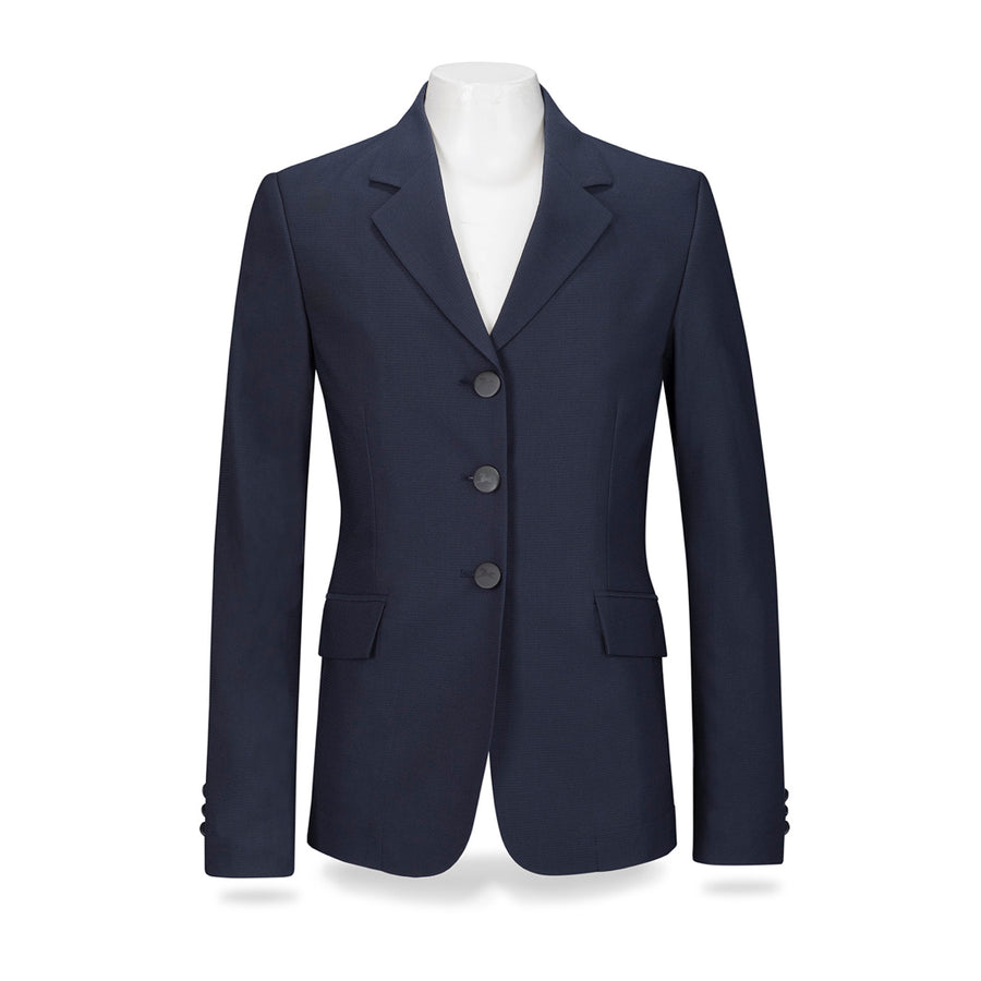 RJ Classics Girl's Hailey 3-Button Show Coat Navy
