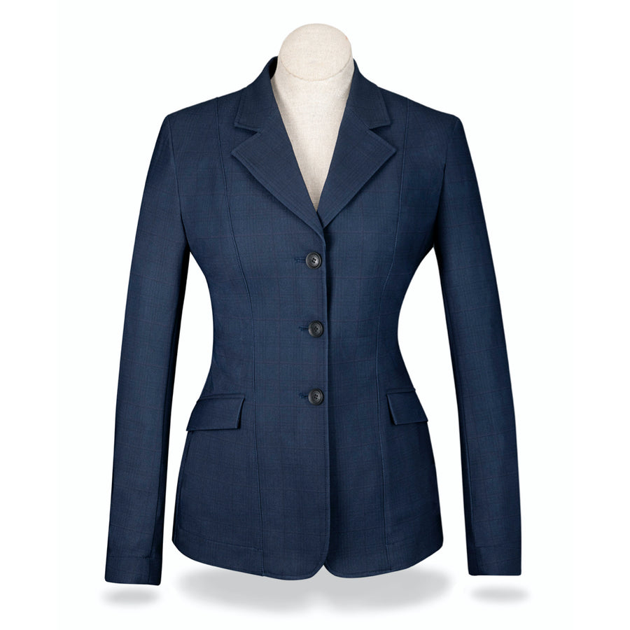 RJ Classics Girl's Shore 3-Button Softshell Show Coat Navy