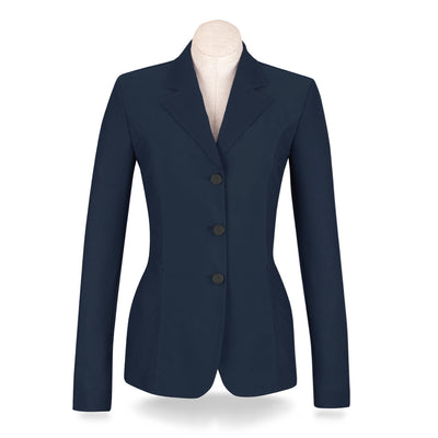 RJ Classics Women's Harmony 3-Button Summer Mesh Show Coat Navy