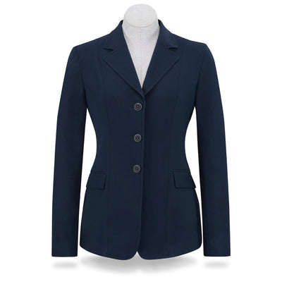 RJ Classics Women's Monterey 3-Button Softshell Show Coat Navy