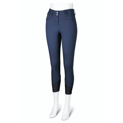 RJ Classics Women's Harper Knee Patch Grip Breech Insignia Blue