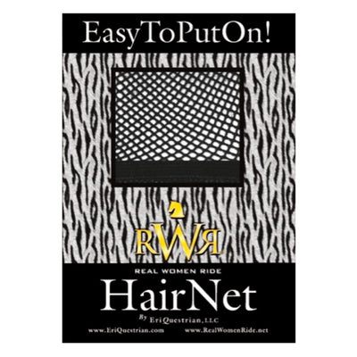 RWR No Knot Hair Net Black