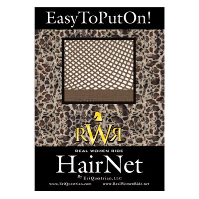 RWR No Knot Hair Net Medium Brown