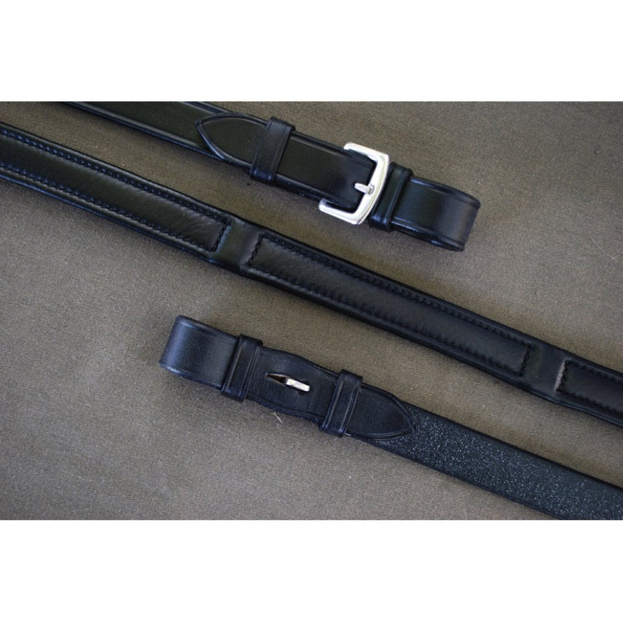Red Barn Deluxe Lined Dressage Reins