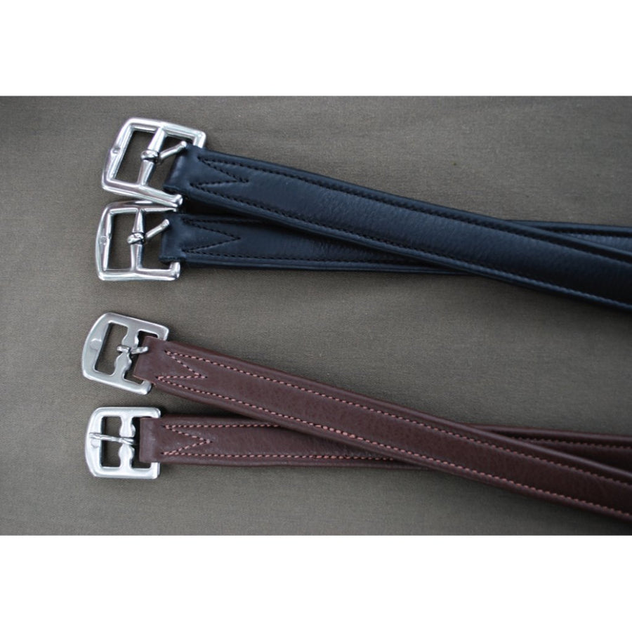 Red Barn Lined Stirrup Leathers