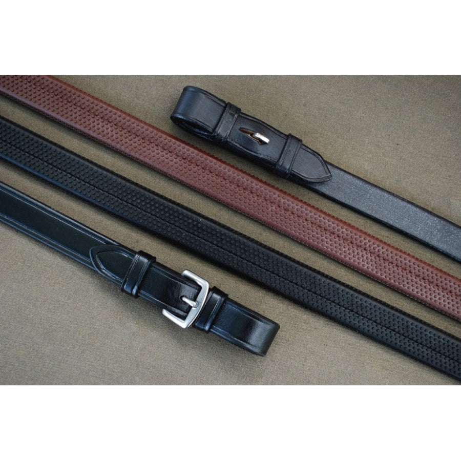 Red Barn Rubber Reins