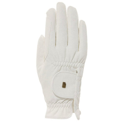 Roeckl Chester Riding Glove White