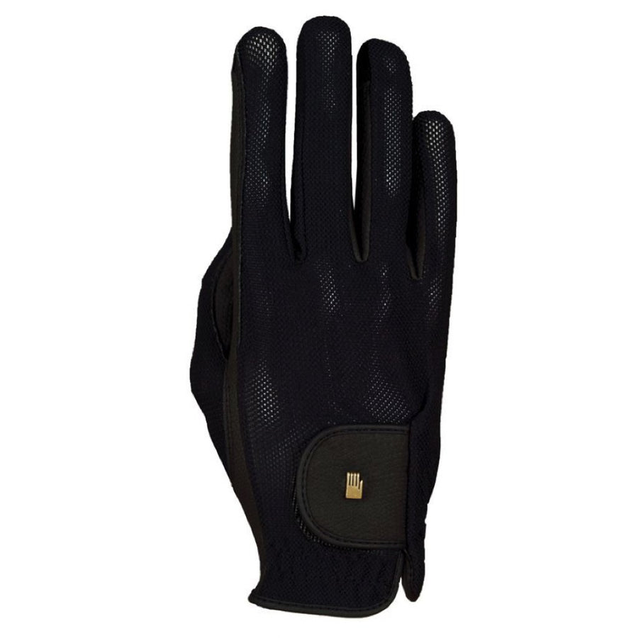 Roeckl Summer Chester Mesh Riding Glove Black