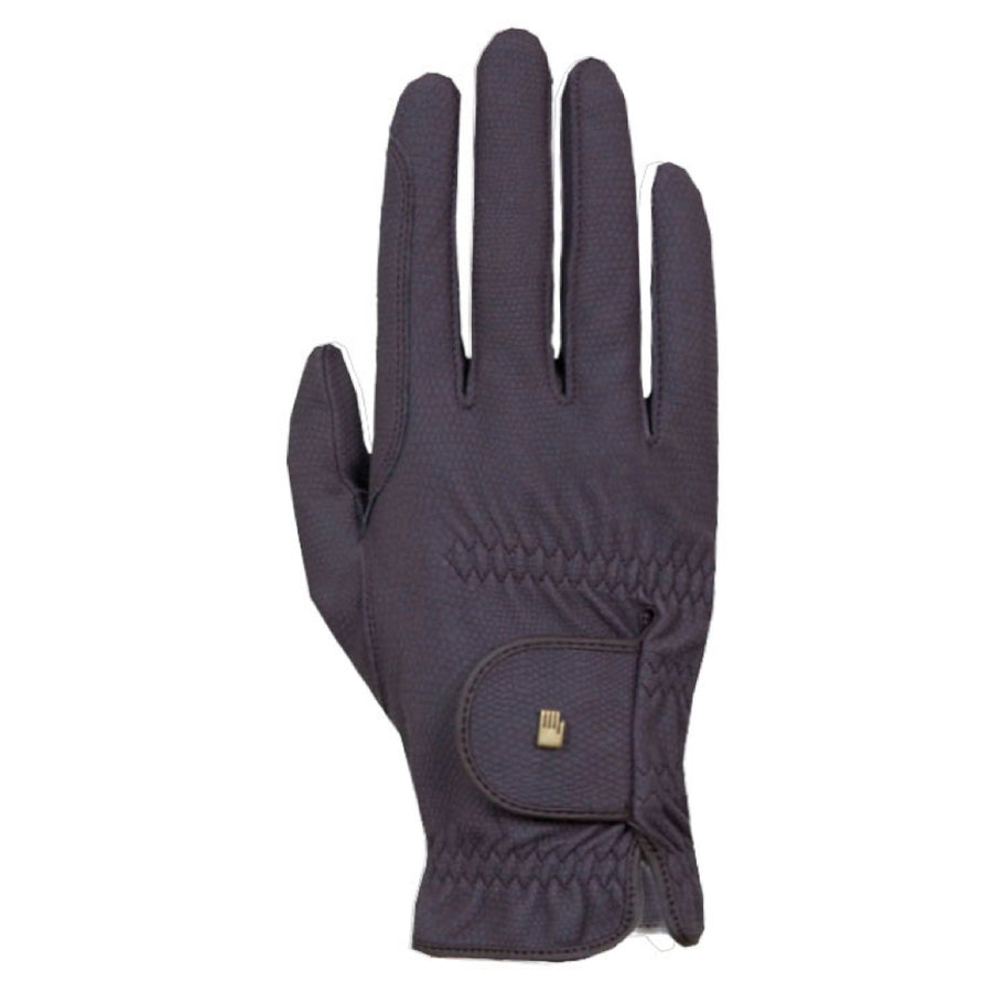 Roeckl Winter Chester Riding Glove Anthracite/Silver
