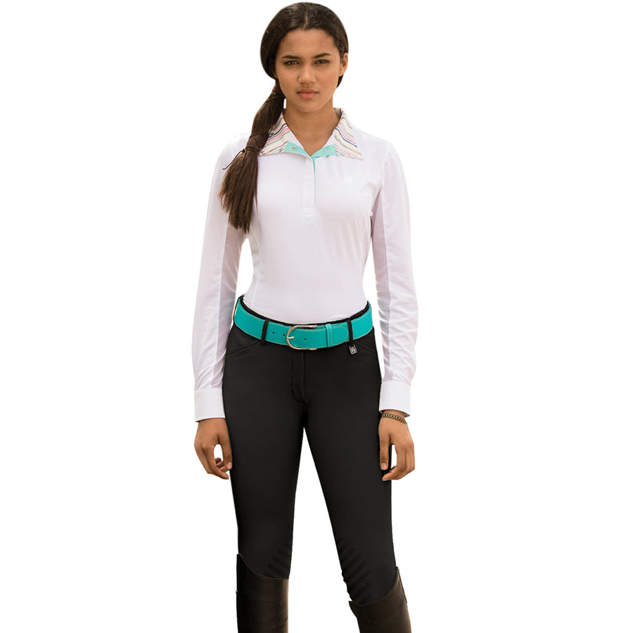 Romfh Women's Sarafina Knee Patch Grip Breech Dark Navy
