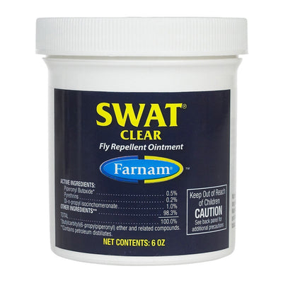 Swat Fly Repellent Horse Ointment Clear