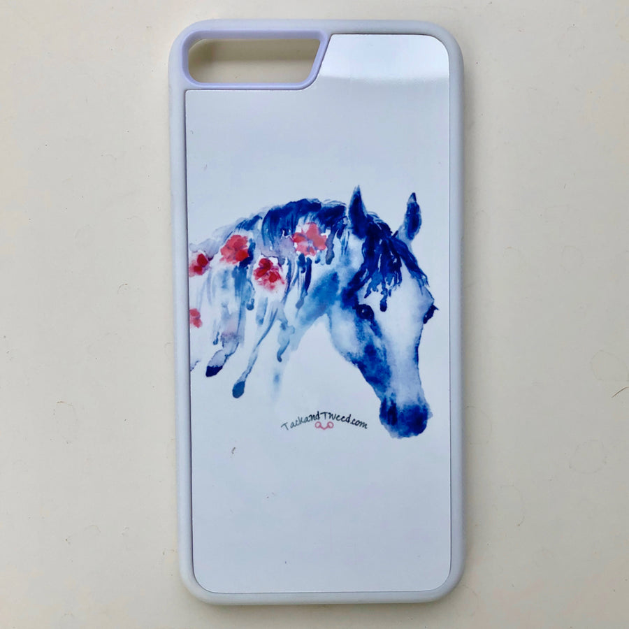 Tack and Tweed iPhone 7/8 Case with Floral Mane Sublimation