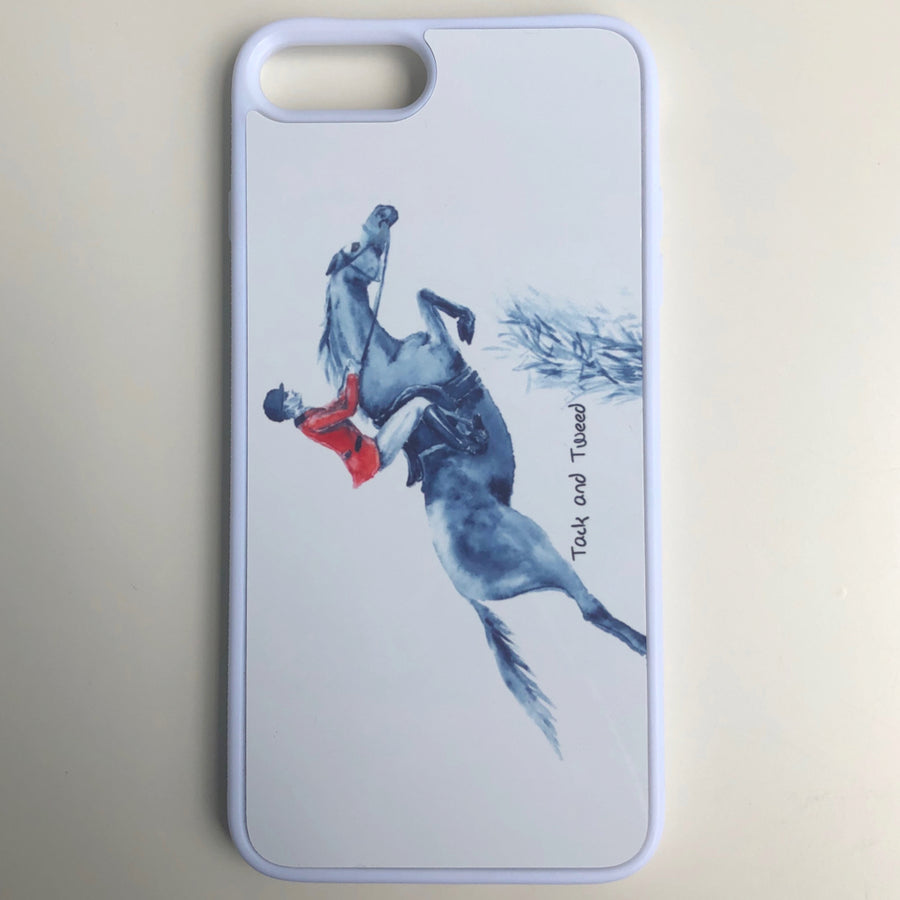 Tack and Tweed iPhone 7/8 Case with Hunter/Jumper Sublimation