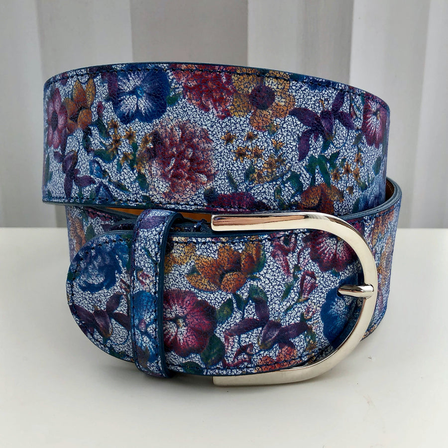 Tailored Sportsman Flower Power Riding Belt