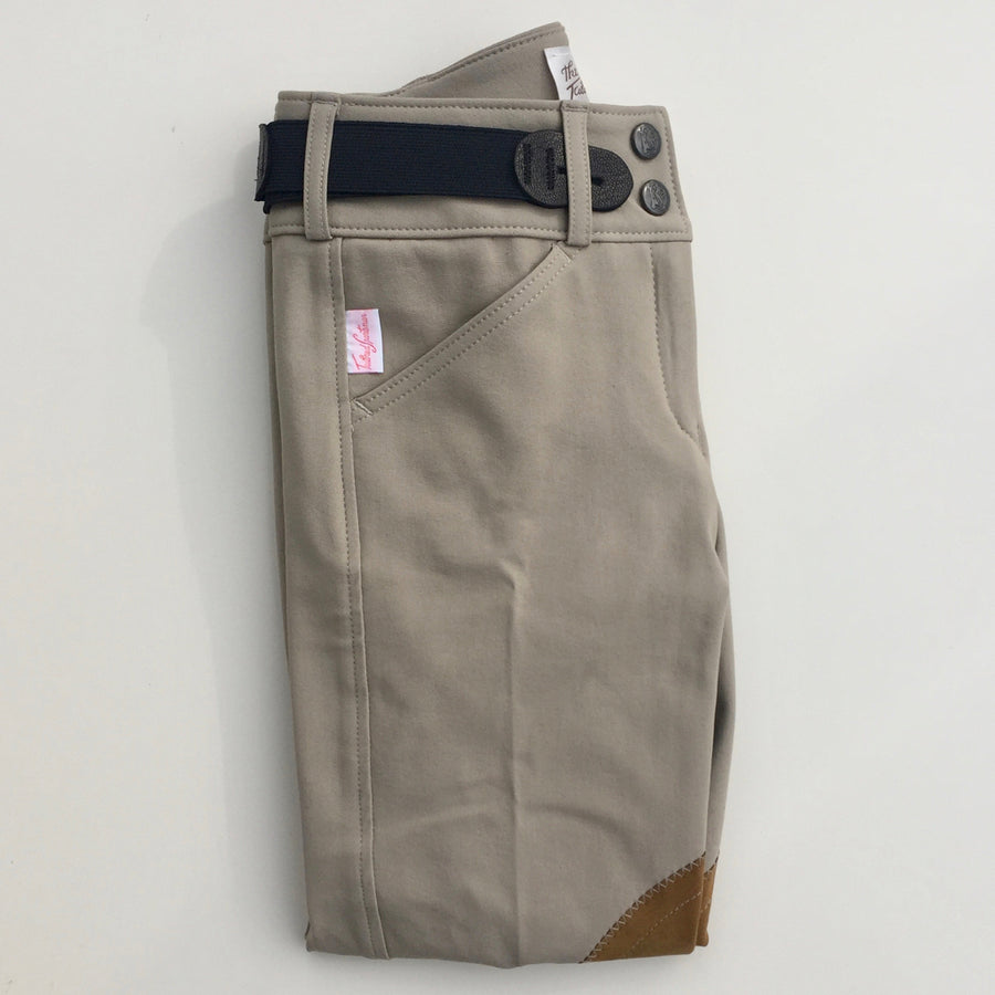 Tailored Sportsman Girl's Trophy Hunter Jodhpur Tan