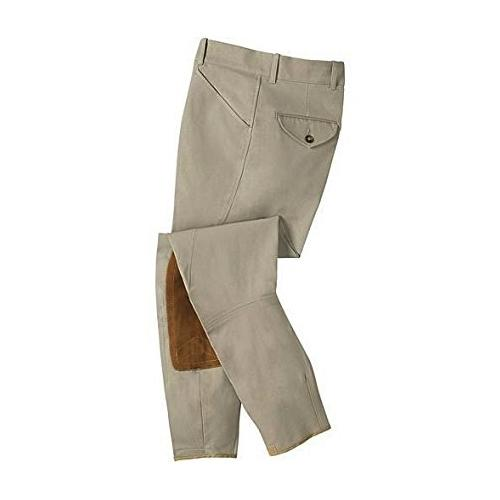 Tailored Sportsman Men's Front Zip Trophy Hunter Riding Breech Tan