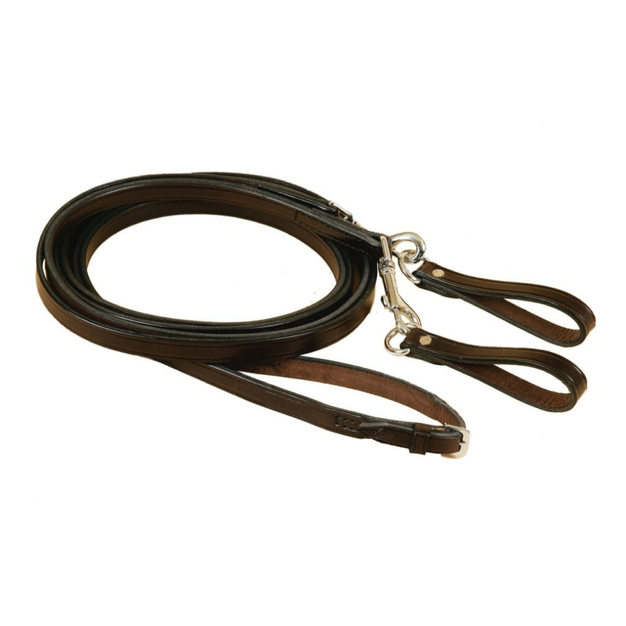 Tory Pony Leather Snap-On Draw Reins