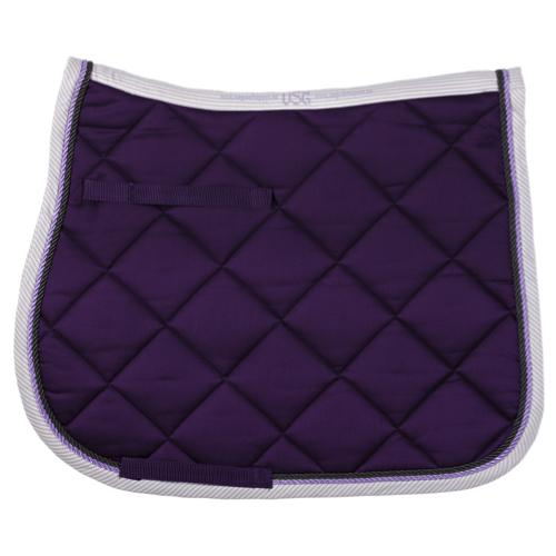 USG All Purpose Quilted Square Pad Navy with Ice Blue