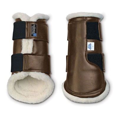 Valena Hind Tendon Boots Brown
