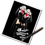 SIGNED BOULET BROTHERS 8x10 PHOTO