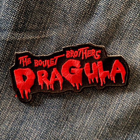 "OFFICIAL BOULET BROTHERS DRAGULA ""LOGO"" PATCH"