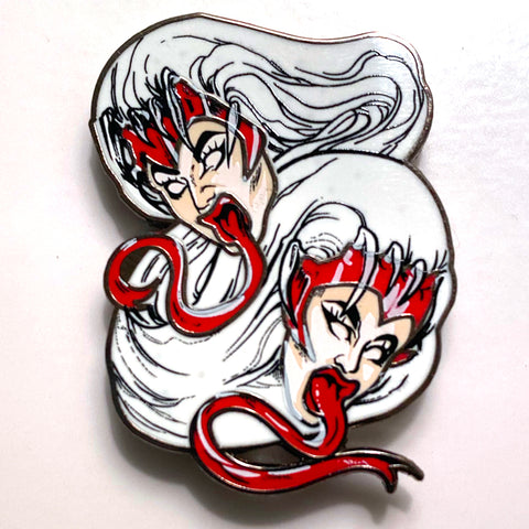 "BOULET BROTHERS ""MONSTERS OF ROCK"" ENAMEL PIN"