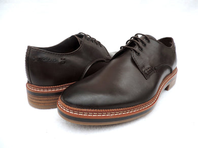 Clarks Grimsby Walk Dark Brown - Got Your Shoes